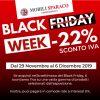 Black Friday con sconto IVa da Mobili Sparaco