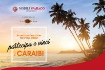 Mobili Sparaco ti regala i Caraibi