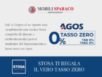 Finanziamento a tesso zero di Stosa Cucine da Mobili Sparaco