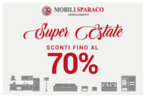 SuperEstate da Mobili Sparaco con sconti fino al 70%