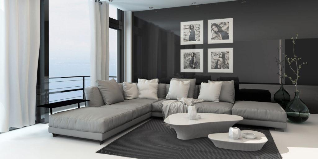 Perch scegliere il grigio per arredare casa for Arredamento grigio