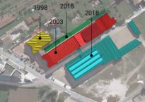 La storia e la crescita del mobilificio Sparaco dal 1998 al 2018