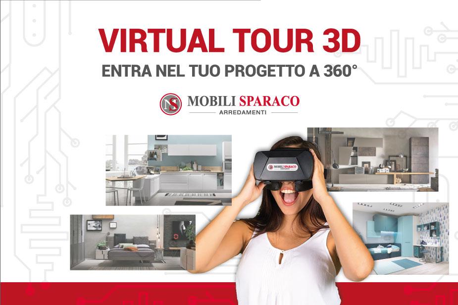 virtual tour per arredamento da Mobili Sparaco