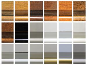 Legno in vari colori