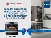Stosa forno Dual Cook Flex di Samsung