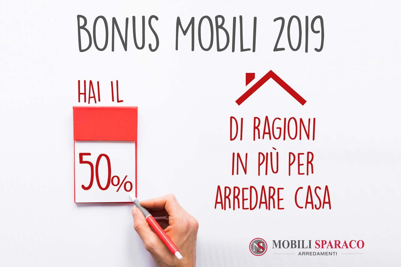 Bonus Mobili 2019