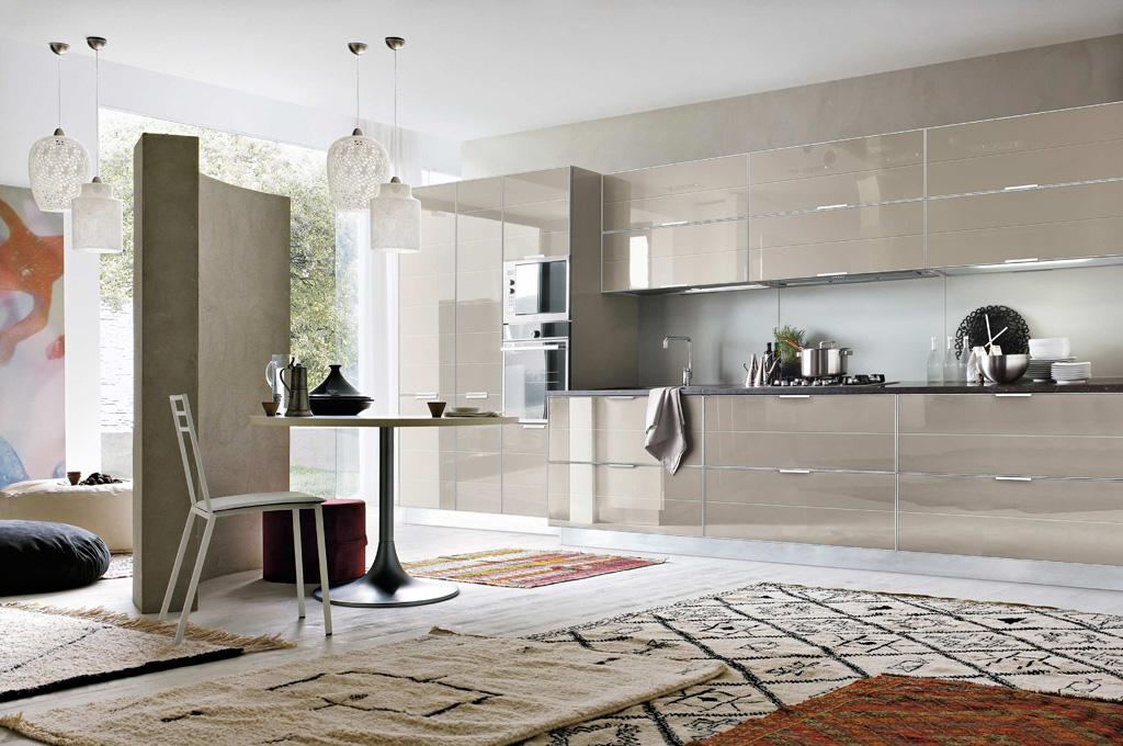 Brillant cucine moderne mobili sparaco - Cucine con forno alto ...