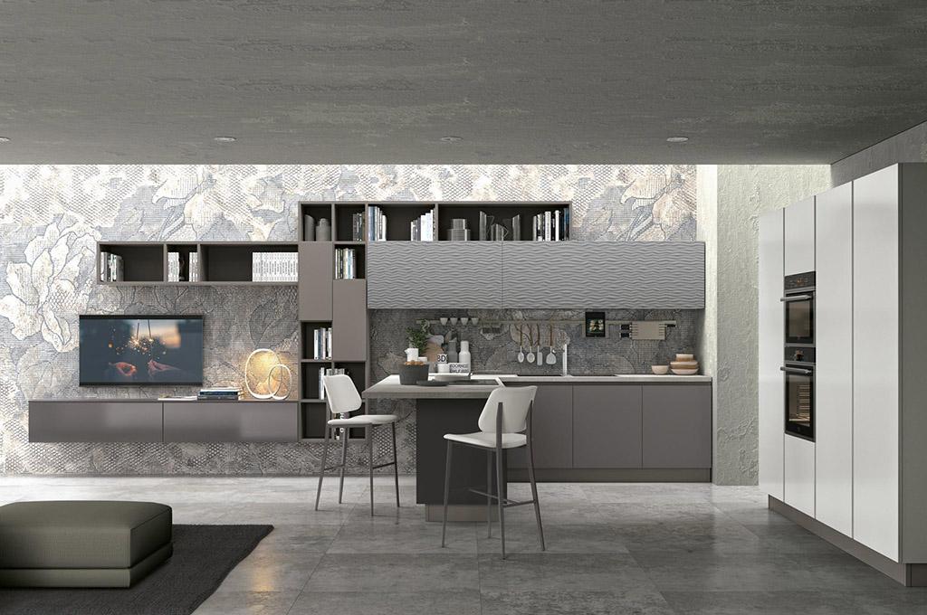 Clover cucine moderne mobili sparaco - Colori di cucine moderne ...