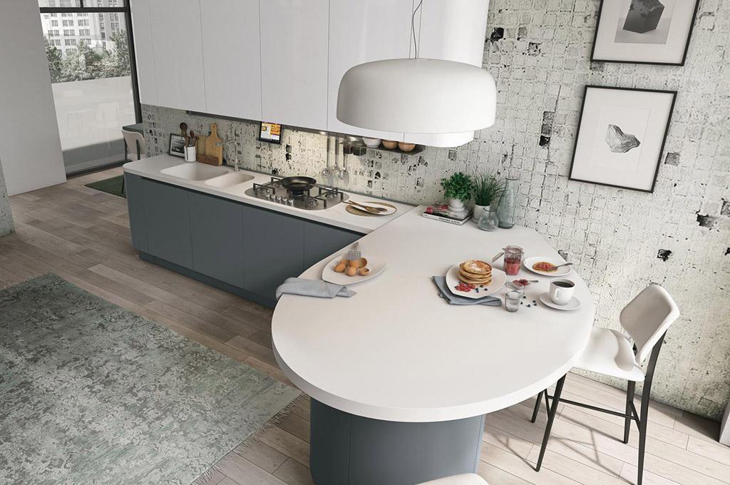 Clover cucine moderne mobili sparaco - Cucine moderne con isola lube ...