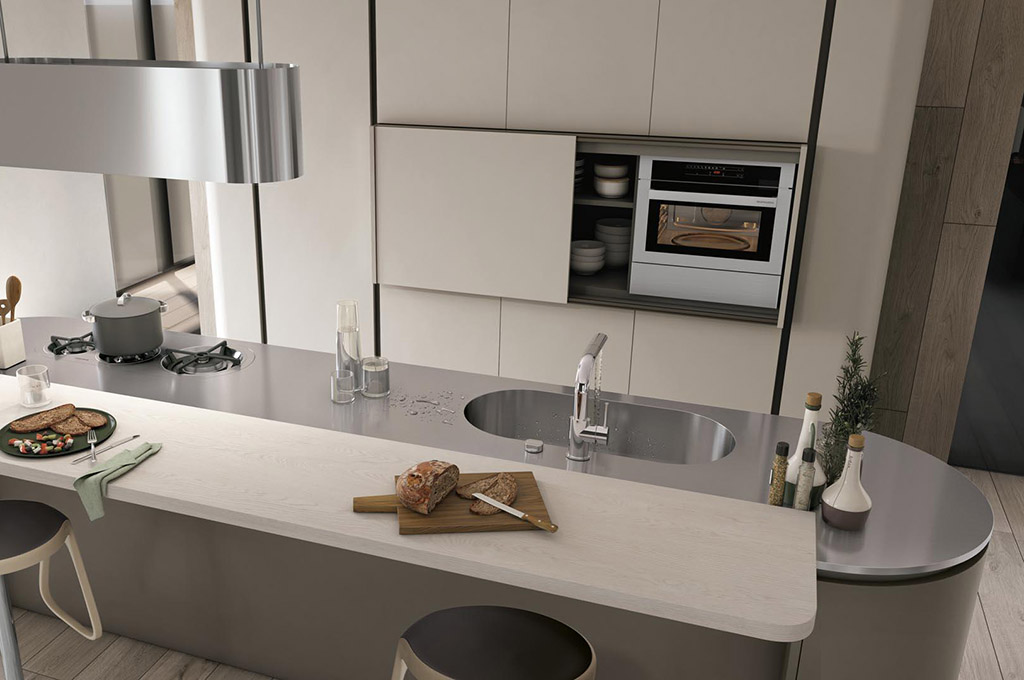 Colori Cucine Lube : Clover cucine moderne mobili sparaco