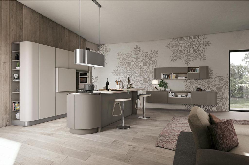 Clover cucine moderne mobili sparaco for Programma per arredare cucina