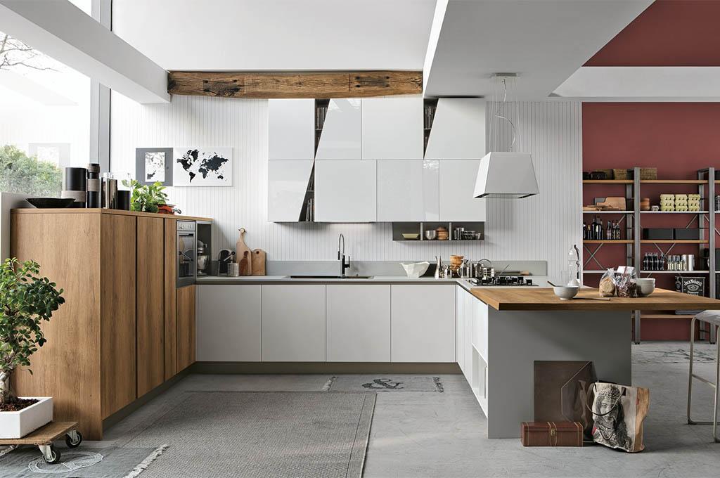 Cucina angolare Infinity di Stosa