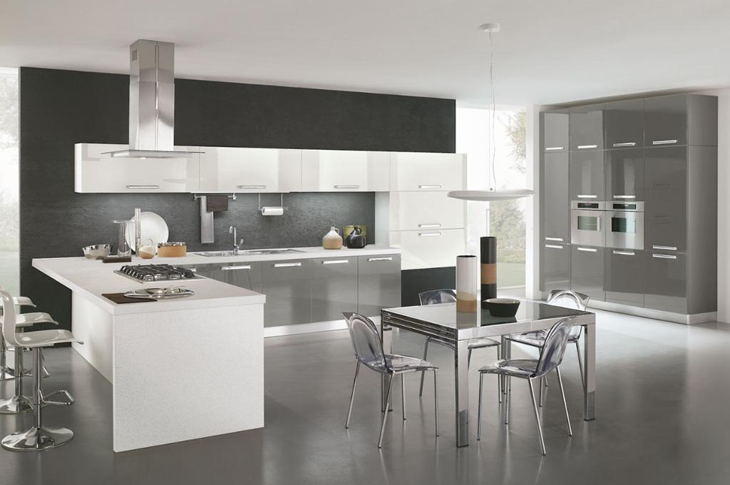 Gaia cucine moderne mobili sparaco - Colori di cucine moderne ...