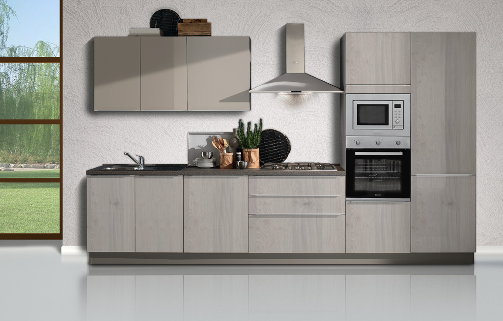 Mia cucine moderne mobili sparaco for Cucine lineari prezzi