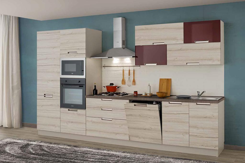 Smile 360 cucine moderne mobili sparaco for Cucine classiche in offerta