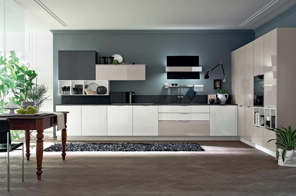 Alev cucine moderne mobili sparaco - Cucine lineari moderne ...