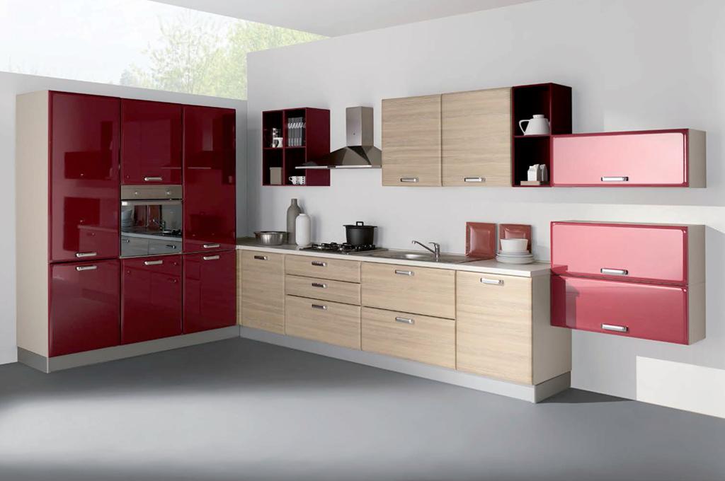 Ambra angolare cucine moderne mobili sparaco - Mobile angolare cucina ...