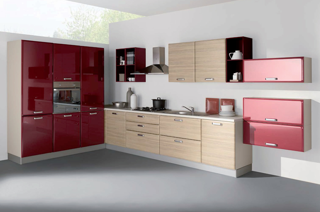 Ambra angolare | Cucine moderne | Mobili Sparaco