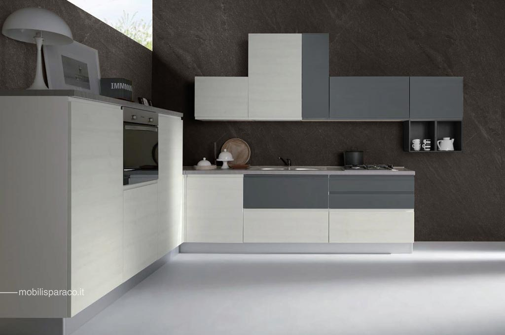 Cucine moderne Kelly angolare