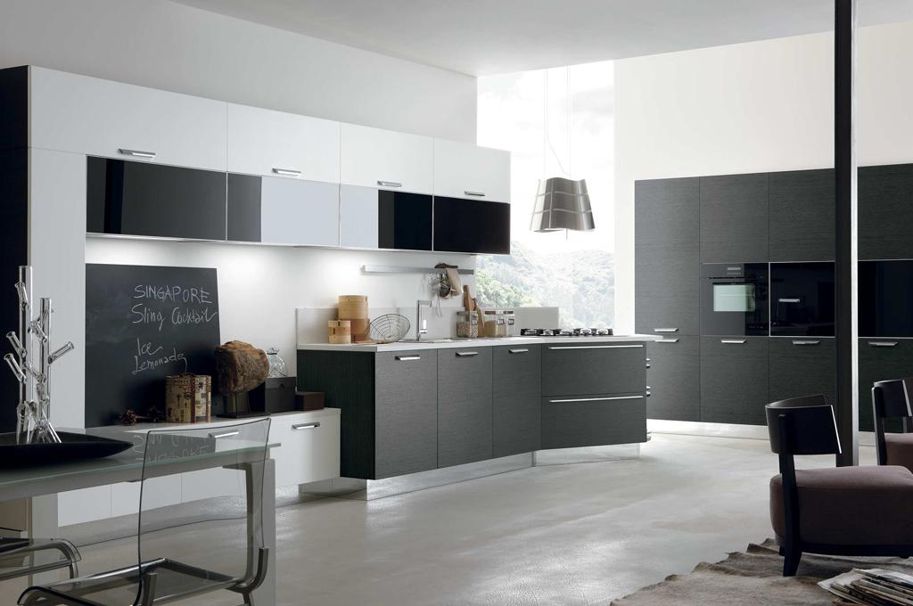 life cucine moderne mobili sparaco. Black Bedroom Furniture Sets. Home Design Ideas