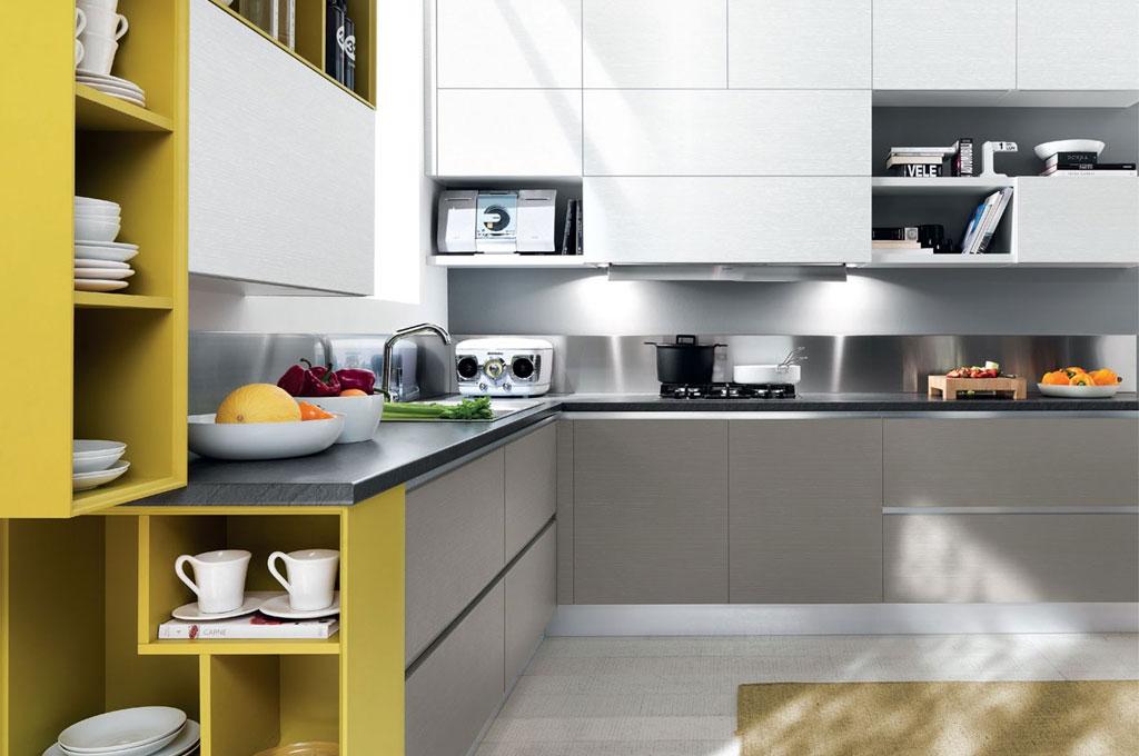 Essenza cucine moderne mobili sparaco - Foto cucine moderne ...