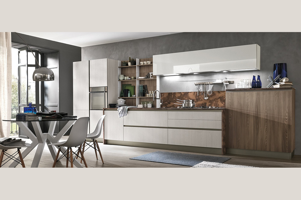 Infinity cucine moderne mobili sparaco for Cucine moderne 2017