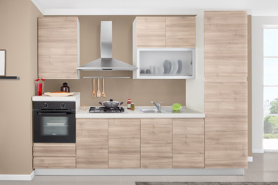 Cucine moderne mobili sparaco for Cucina 4 metri lineari prezzi