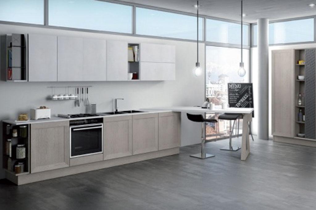 Milano cucine moderne mobili sparaco - Mobili cucina moderna ...