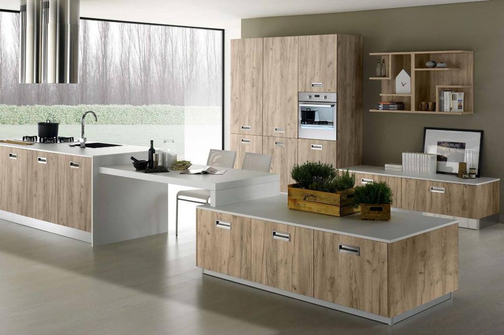 Nevada cucine moderne mobili sparaco - Cucine non componibili ...