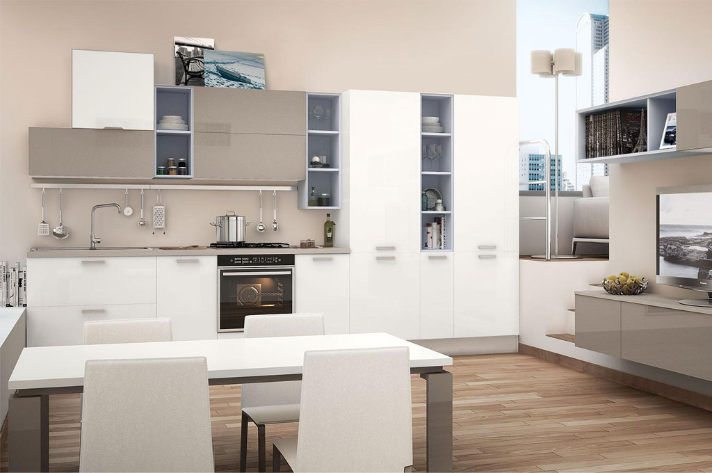 Noemi cucine moderne mobili sparaco for Mobilia cucine