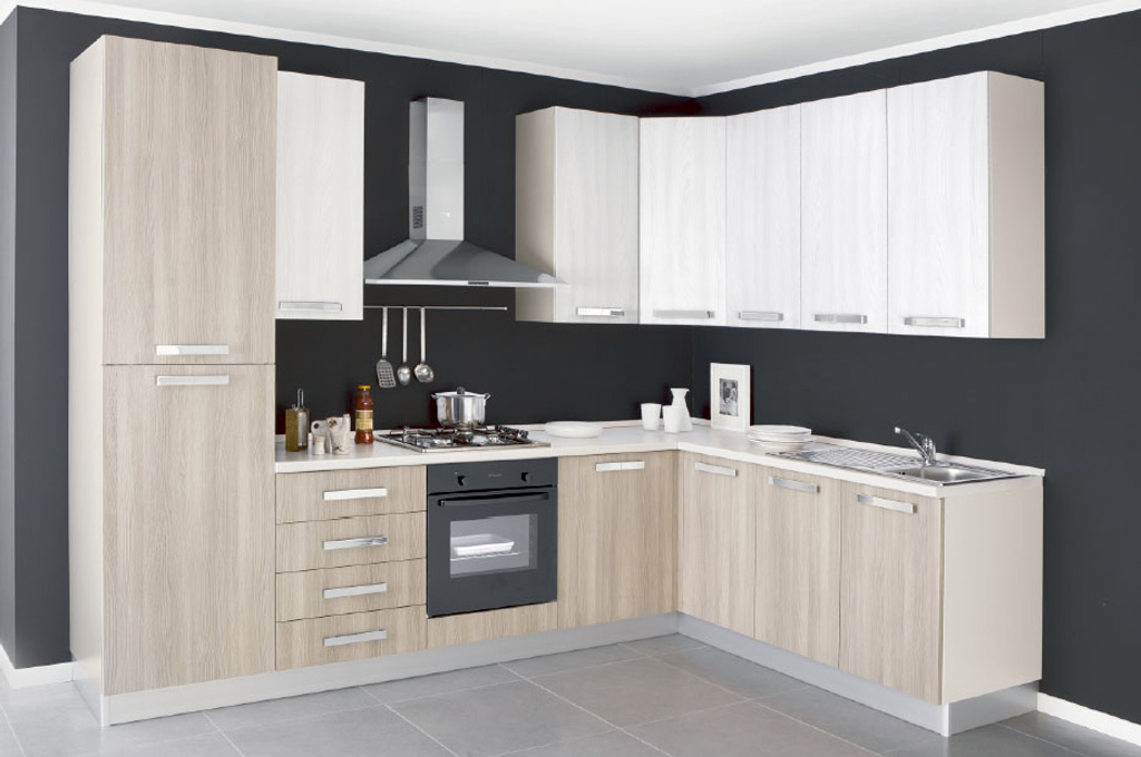 New smart cucine moderne mobili sparaco - Cucine ad angolo moderne ...