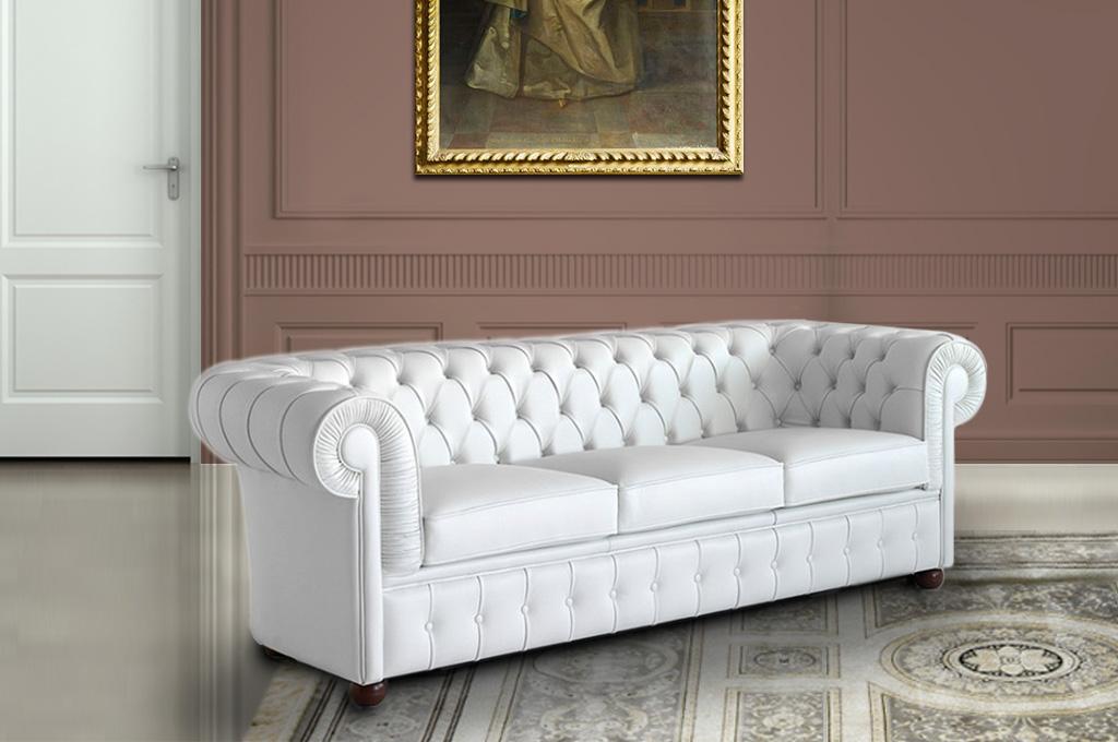 Chester divani classici mobili sparaco for Divani mobilia