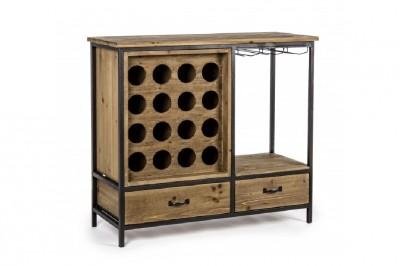 Mobili in legno massello cucine soggiorni e camere da letto for Mobile porta bottiglie