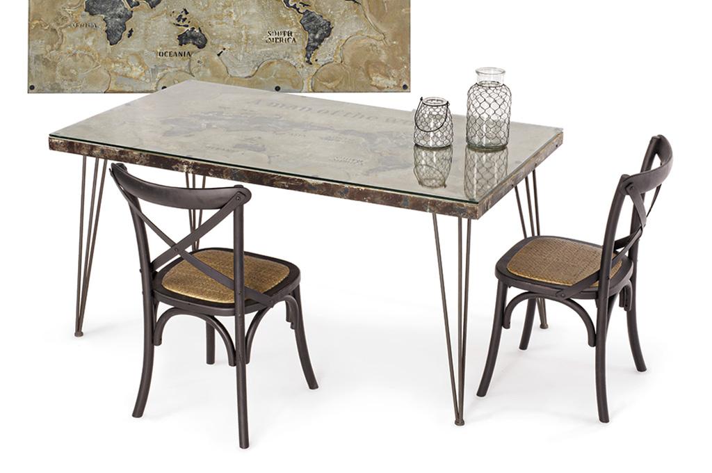 Atlantide tavoli e sedie mobili sparaco for Arredamento stile underground