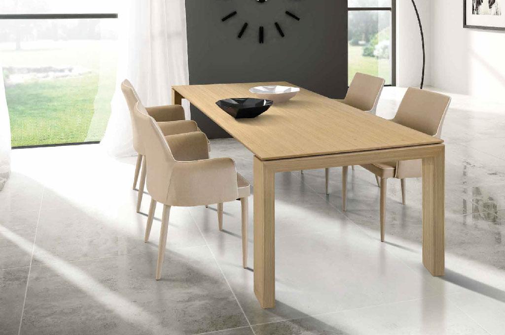 Dafne rovere tavoli moderni mobili sparaco for Tavolo allungabile rovere