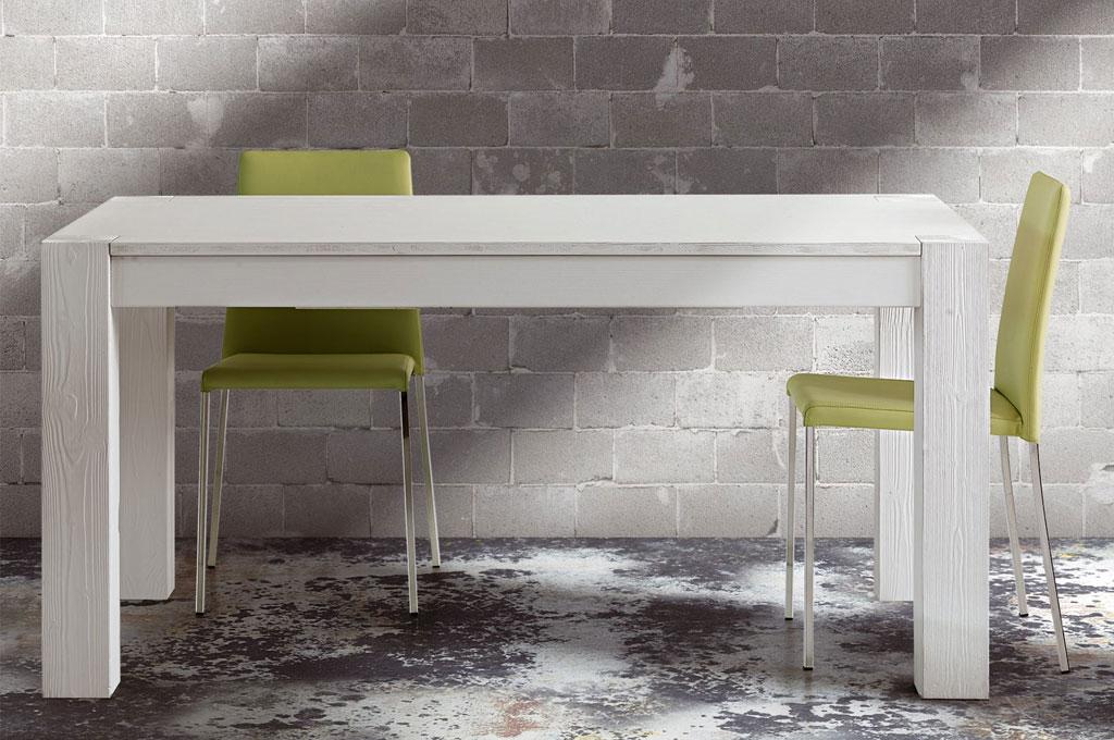 Tavolo abete bianco | Tavoli e sedie | Mobili Sparaco