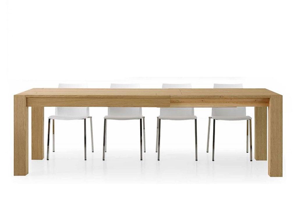 Tavolo Rovere Naturale Tavoli E Sedie Mobili Sparaco