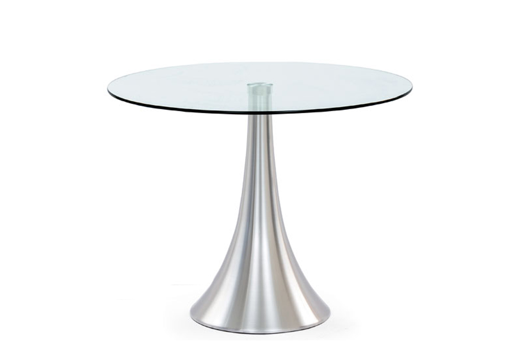 Awesome tavolo vetro rotondo gallery for Tavolo design vetro