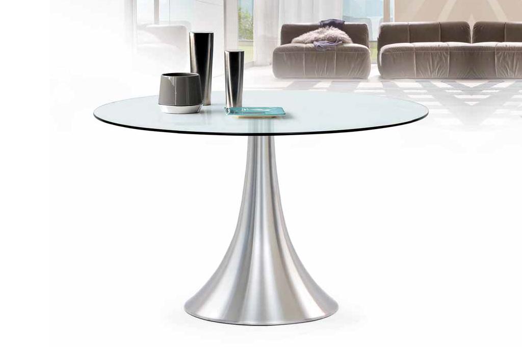 Art tavoli e sedie mobili sparaco for Tavolo in vetro tondo