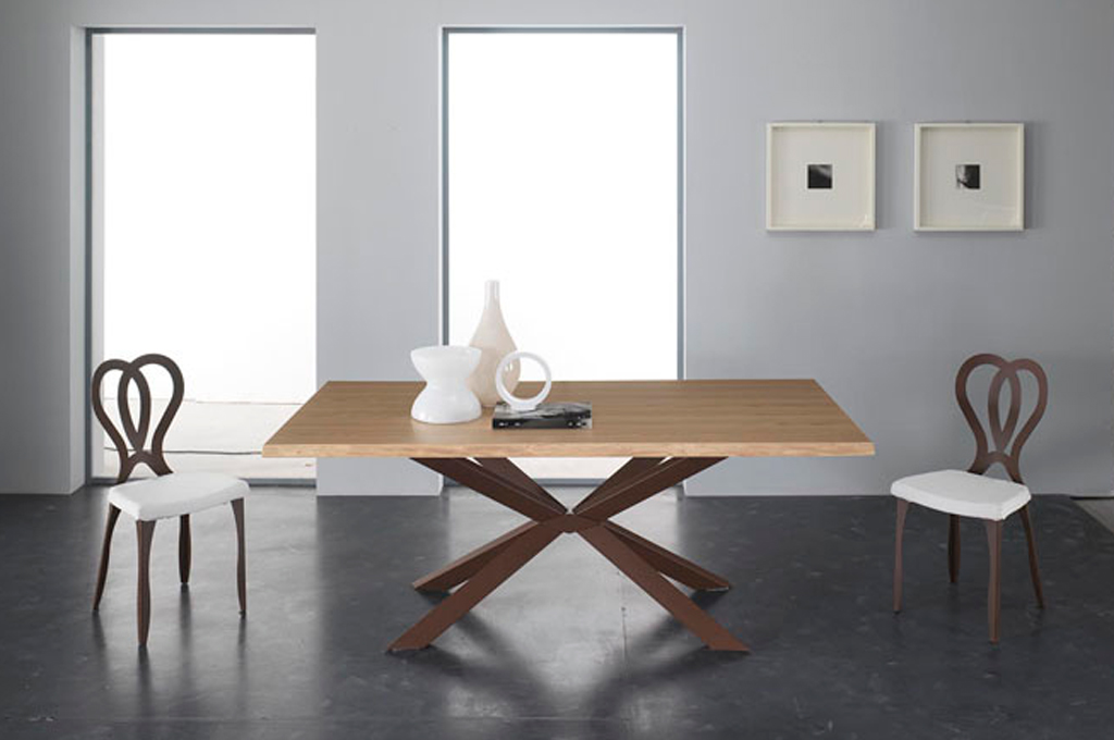 Stunning tavoli e sedie mikado with sedie rovere for Sedia quadra mondo convenienza
