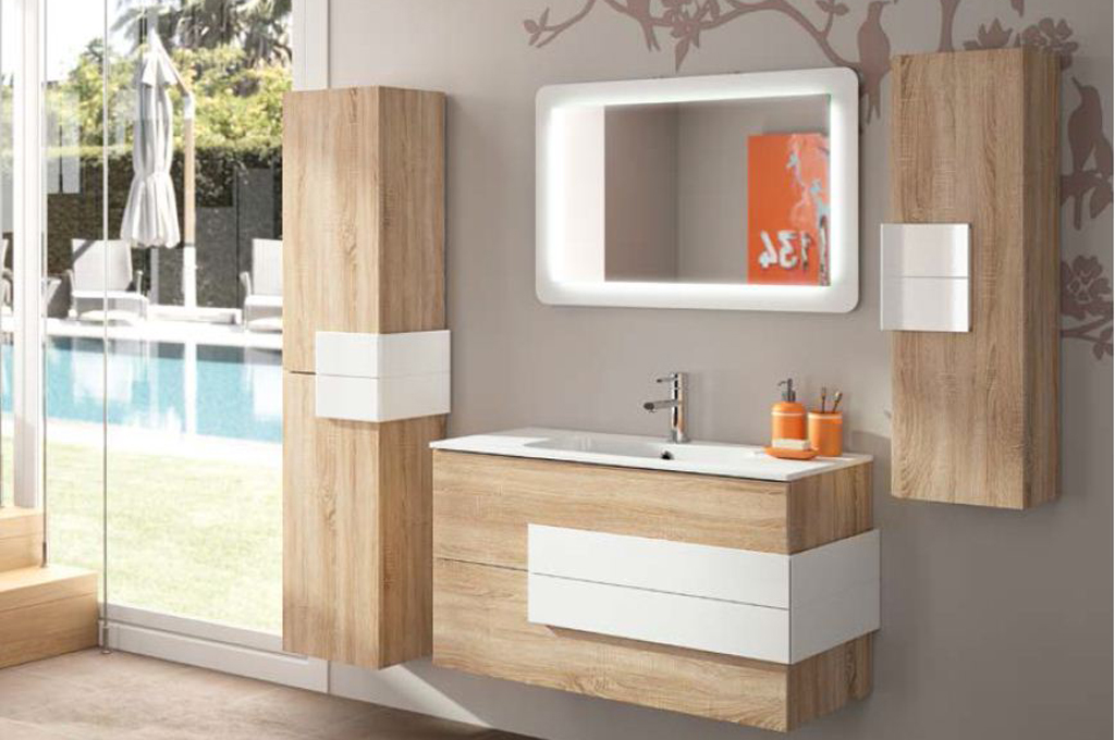Excellent arredo bagno cronos with mobili in rovere naturale - Mobili in rovere naturale ...