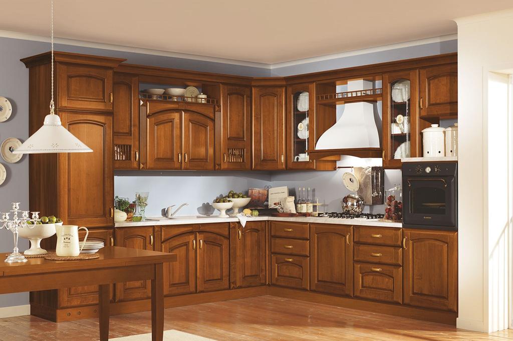 Atena cucine classiche mobili sparaco - Mobili cucina ad angolo ...