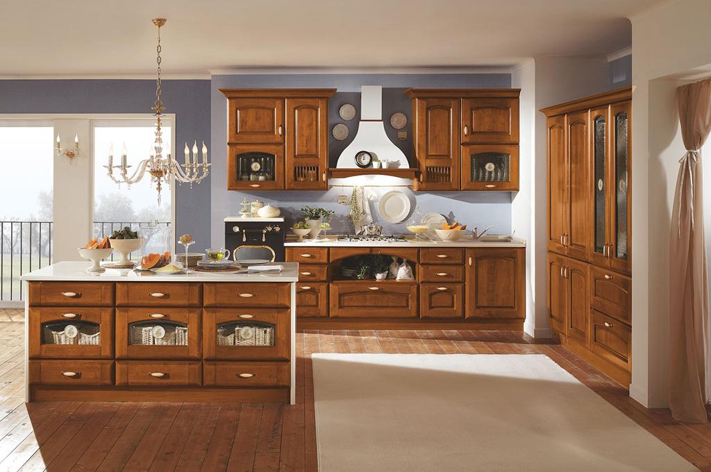 Atena cucine classiche mobili sparaco - Arte sole cucine ...