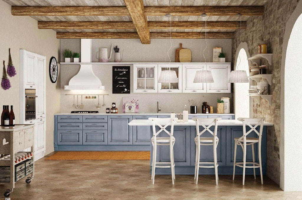 Athena cucine classiche mobili sparaco for Cucine classiche