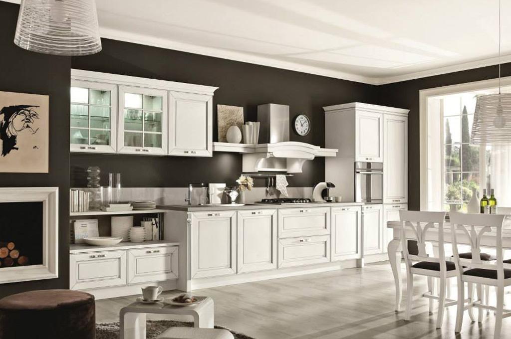 Dolcevita cucine classiche mobili sparaco - Cucine classiche avorio ...