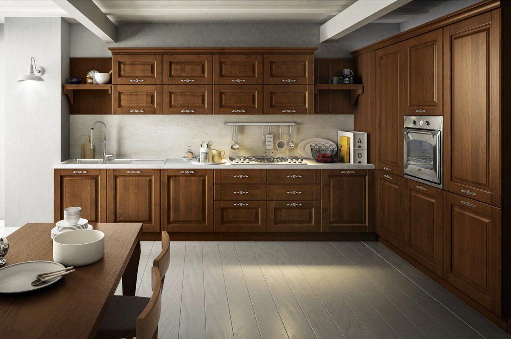 Saturnia cucine classiche mobili sparaco for Cucine classiche