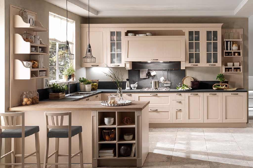 Virginia cucine classiche mobili sparaco - Cucine classiche stosa ...