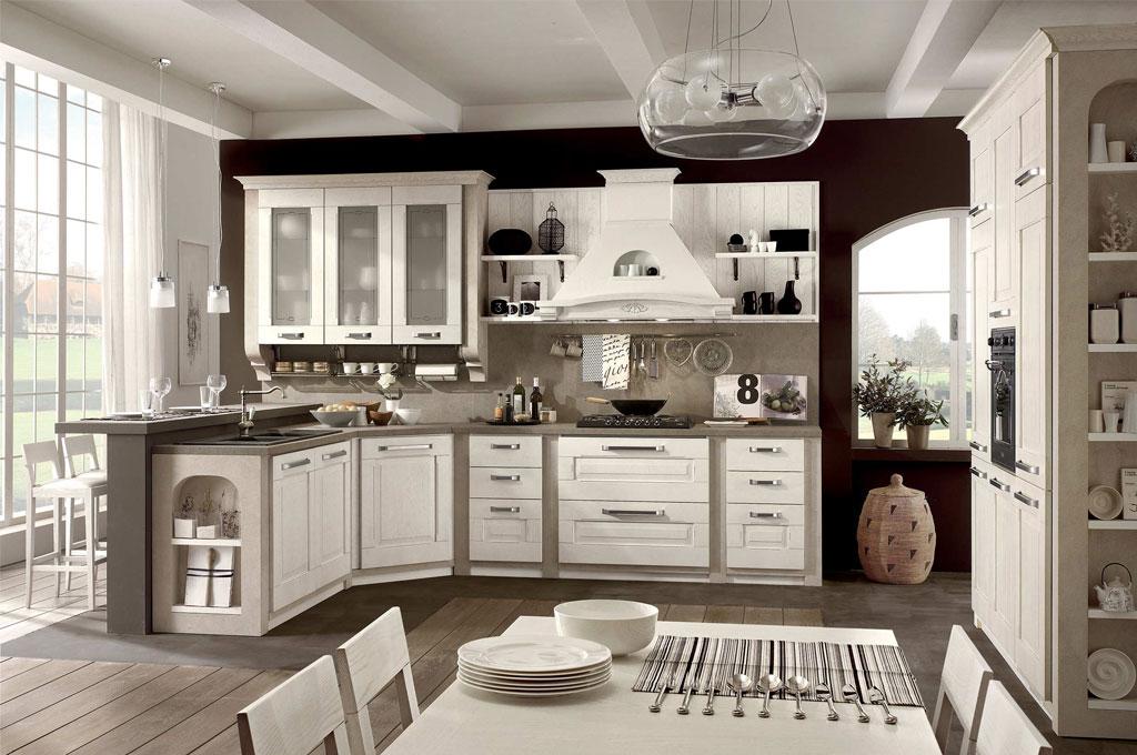 Aida cucine classiche mobili sparaco for Idee per arredare casa stile country