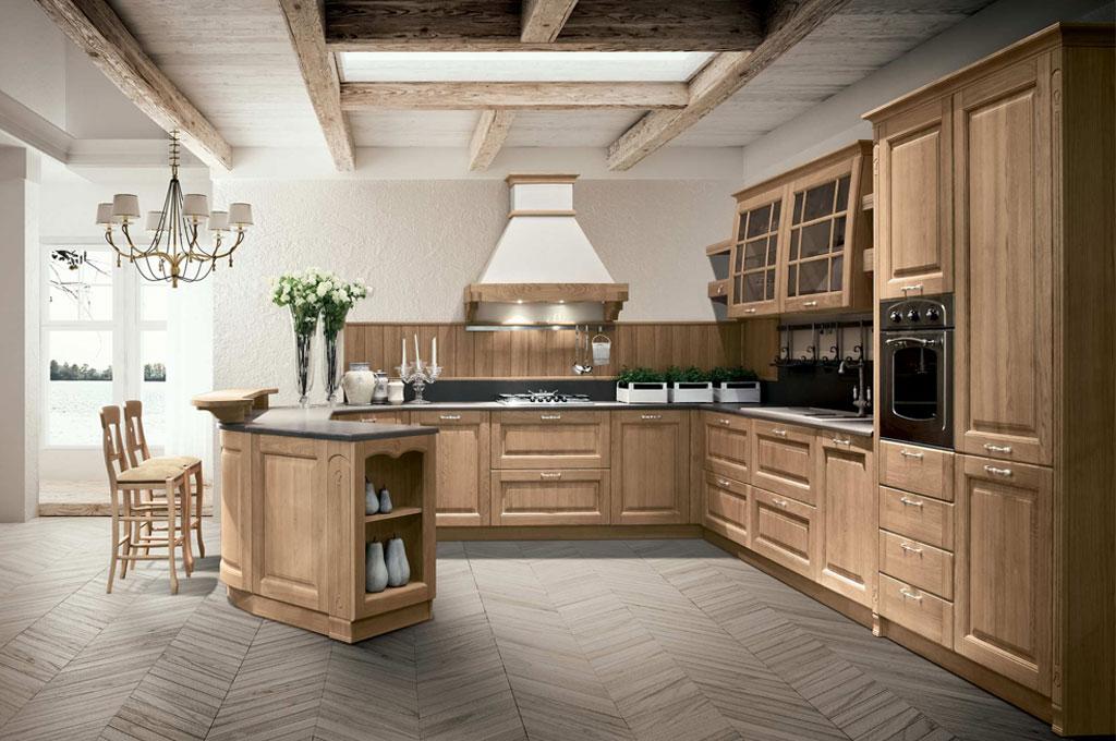 Bolgheri cucine classiche mobili sparaco - Cucine classiche immagini ...