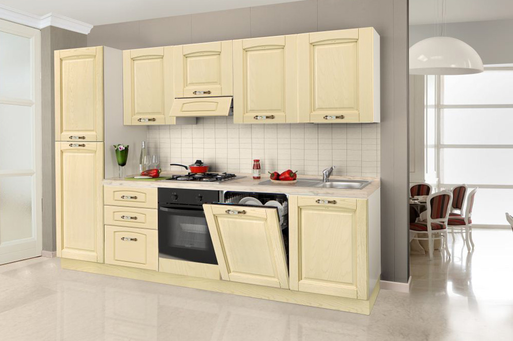 Bea cucine classiche mobili sparaco for Cucine classiche in offerta